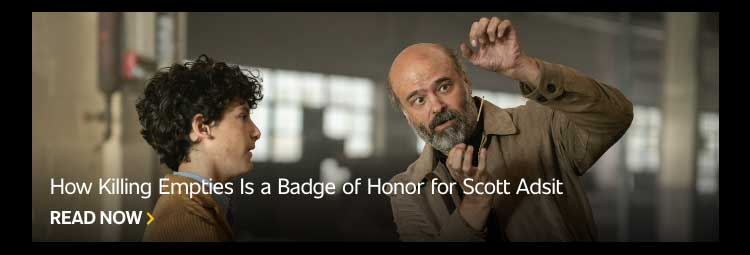 How Killing Empties Is a Badge of Honor for Scott Adsit